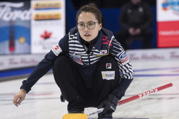 S. Korea to meet U.S. in playoffs at women's curling worlds