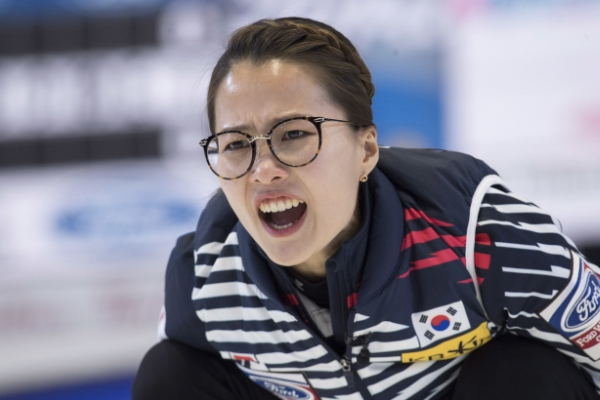 S. Korea knocked out of playoffs at women's curling worlds