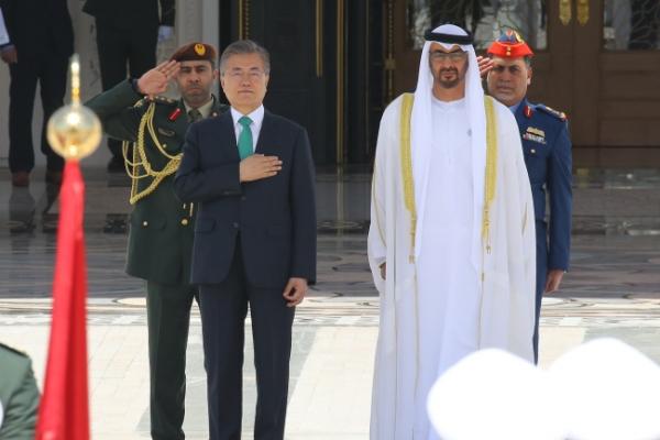 Leaders of S. Korea, UAE agree to upgrade ties, boost economic cooperation