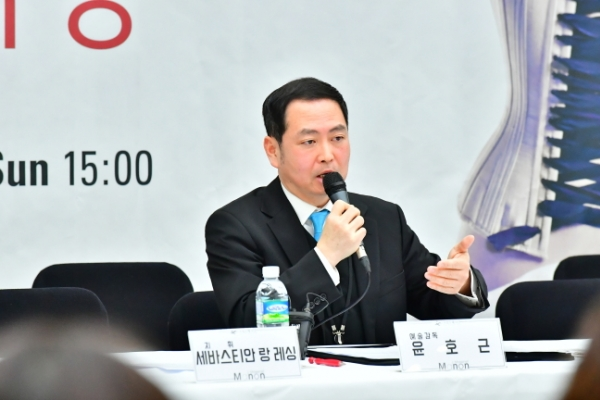 Korea National Opera's new artistic director Yun Ho-gen pledges more Korean operas