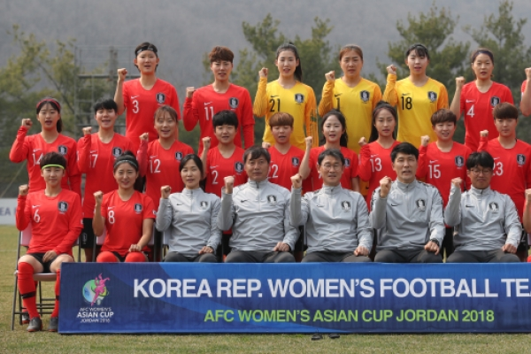 Korea women's football coach vows to grab 2019 World Cup ticket