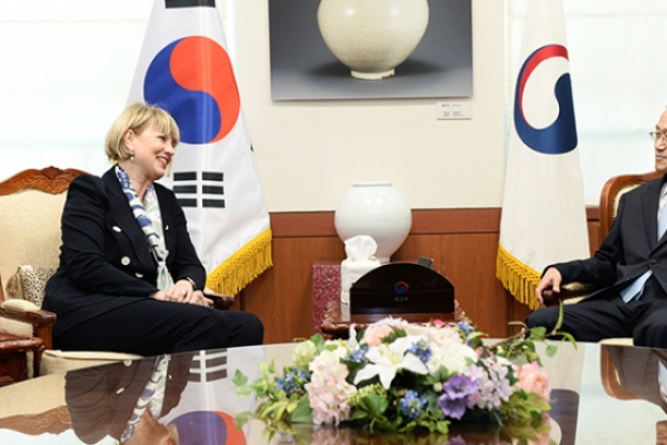 'EU supports 'critical engagement' with NK'