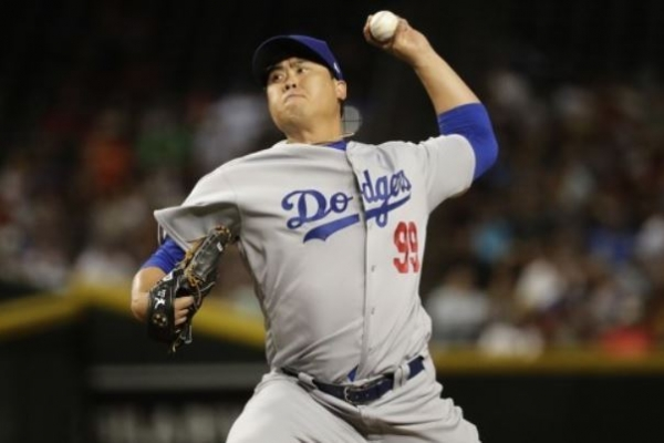 Next start uncertain for Dodgers' Ryu Hyun-jin amid days off, rainfall forecast