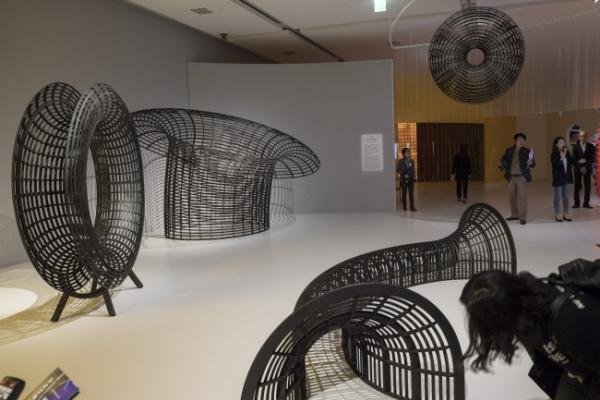 Hangeul exhibition explores Korean script's beauty in art form