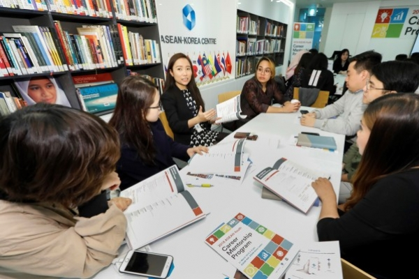 ASEAN students receive tips on landing jobs in Korea