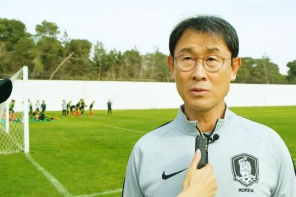 Korea women's football coach satisfied with draw vs. Japan at Asian Cup