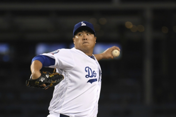 Dodgers' Ryu Hyun-jin wins 2nd consecutive start