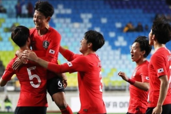 S. Korea open U-19 football tournament with win vs. Morocco