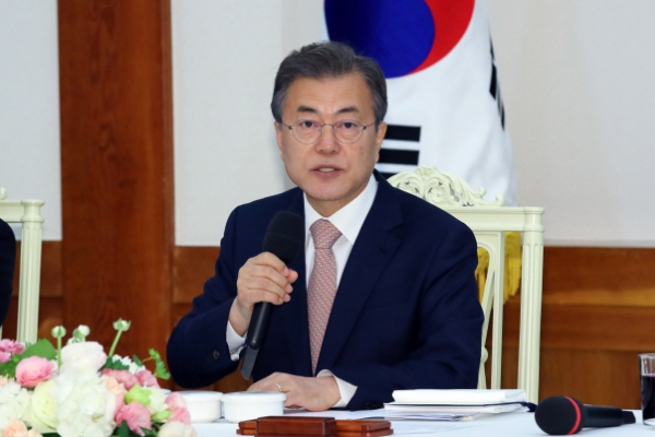 S. Korean president to receive credentials of six new foreign ambassadors