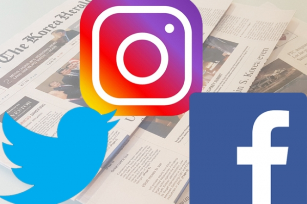 Stay updated on news with The Korea Herald's social media platforms