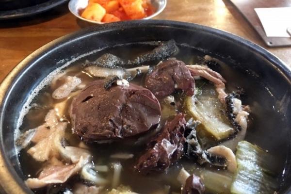 [Epicurean challenge] Blood soup for non-vampires, seonjitguk