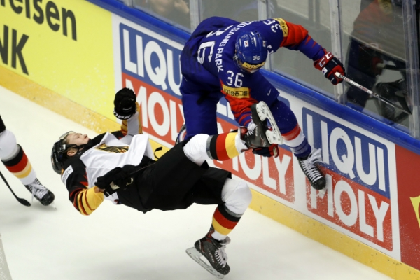 S. Korea blown out by US for 5th straight loss at men's hockey worlds