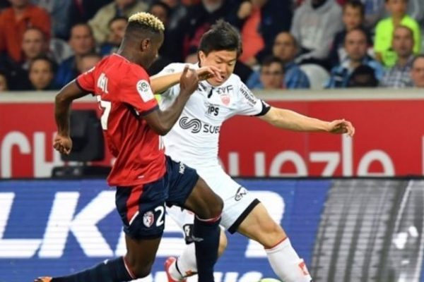 Dijon's Korean midfielder likely to miss World Cup due to injury