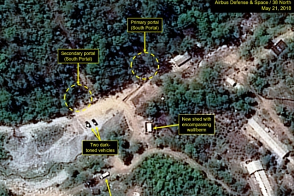 NK official: Nuke-test site demolition may be possible on Thursday