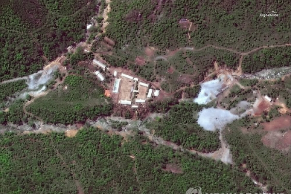 [Breaking] NK dismantles nuclear test site