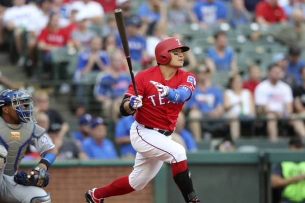 Rangers' Choo Shin-soo becomes top home run hitter from Asia