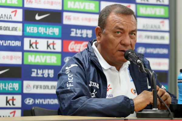 Honduras ready to give 100% in football friendly vs. S. Korea: coach
