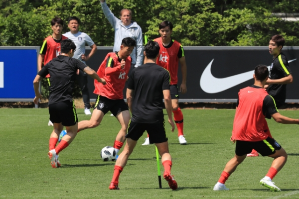 S. Korea looking to tighten security in last World Cup tune-up in Austria