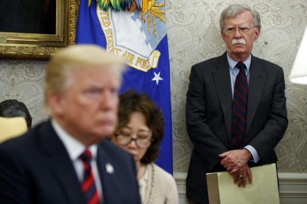 [US-NK Summit] Bolton to be in Singapore for US-N. Korea summit