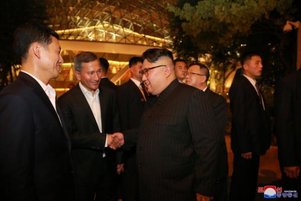 [US-NK Summit] Swift NK media reports on Kim's Singapore itinerary unusual, yet strategic