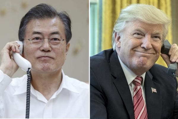 [US-NK Summit] Moon says US-N. Korea summit lays groundwork for world peace