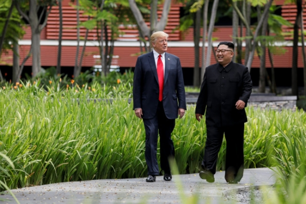 [US-NK Summit] Kim summit helped world avoid 'nuclear catastrophe': Trump