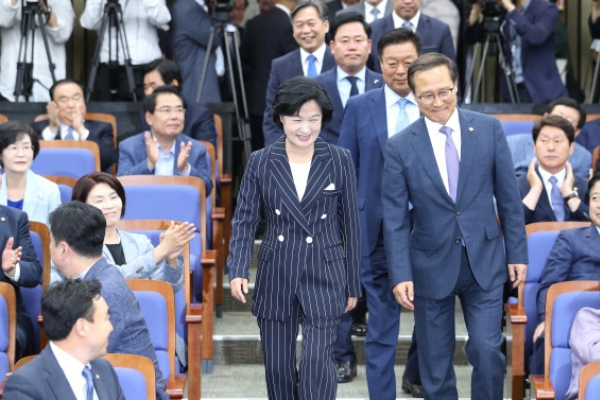 Democratic Party of Korea to normalize parliament next week: floor leader