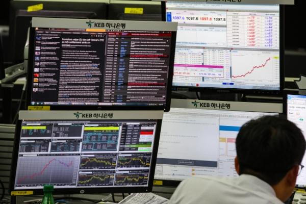 Won breaches 7-month low against dollar