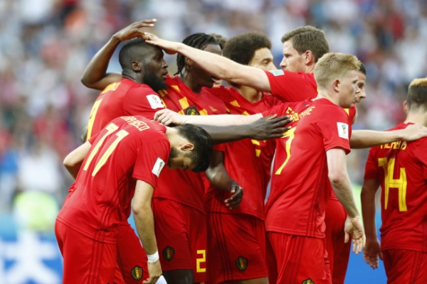 [World Cup] Belgium wakes up in 2nd half, rolls past Panama 3-0