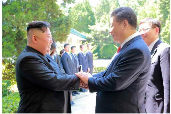 Kim, Xi discuss strengthening strategic, tactical cooperation