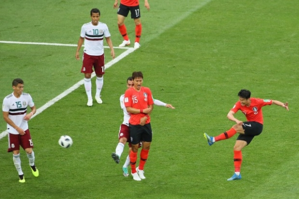 [World Cup] S. Korea fall to Mexico 2-1 for 2nd straight loss
