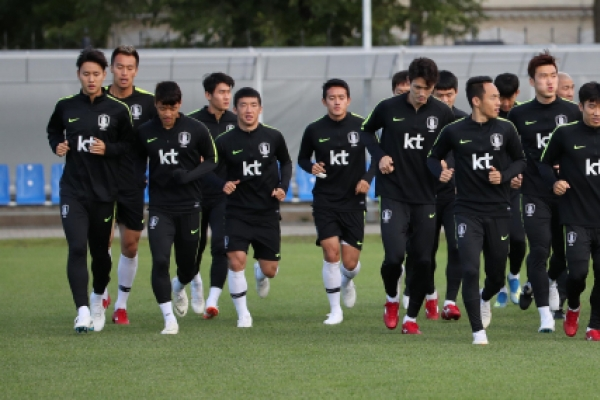 [World Cup] Preparing for a miracle, S. Korea polish up tactics for match vs. Germany