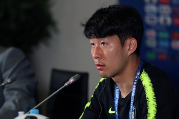 [World Cup] Son Heung-min honored to face Germany, still wants to win
