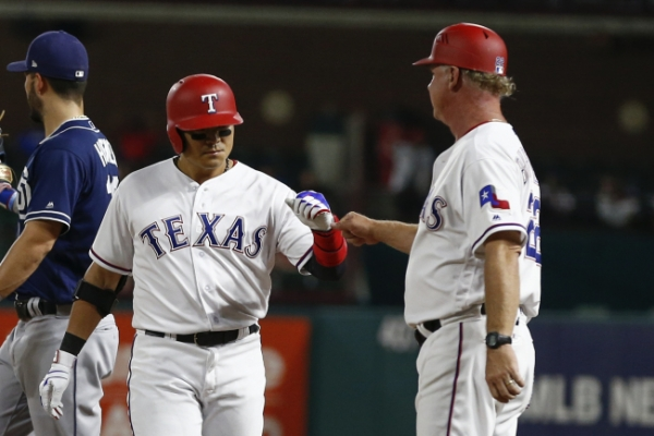Rangers' Choo Shin-soo extends on-base streak to 39 games with 9th inning hit