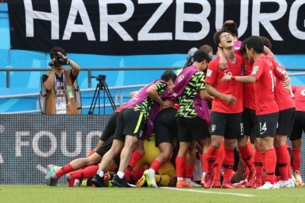 [World Cup] S. Korea avoid dishonorable records with win over Germany