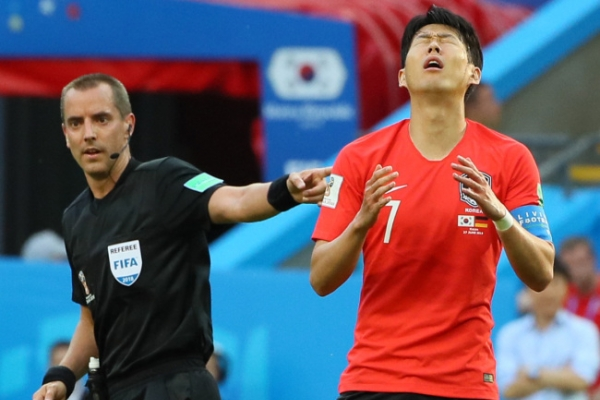 [World Cup] Fans cry out 'Free Son Heung-min'