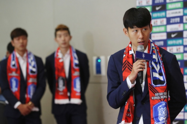 [World Cup] Son Heung-min says S. Korea 'won't be drunk with success' after beating Germany