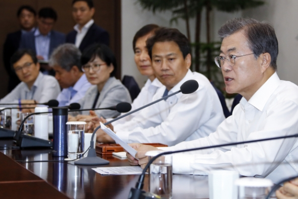 [Newsmaker] Moon stresses importance of cutting working hours