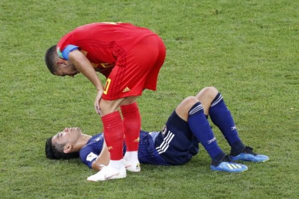 Belgium beats Japan 3-2 to reach World Cup quarterfinals