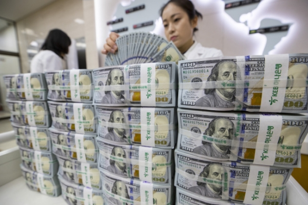 Forex reserves in Korea top $400b