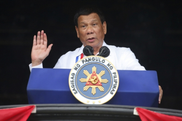 [Newsmaker] Duterte vows to resign if anybody can prove God exists