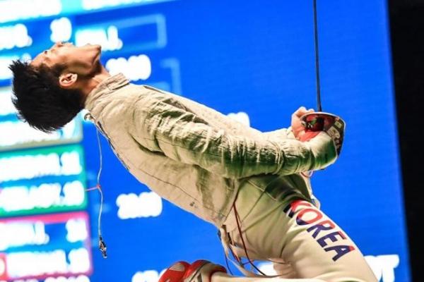Korean men win sabre gold, bronze at fencing worlds