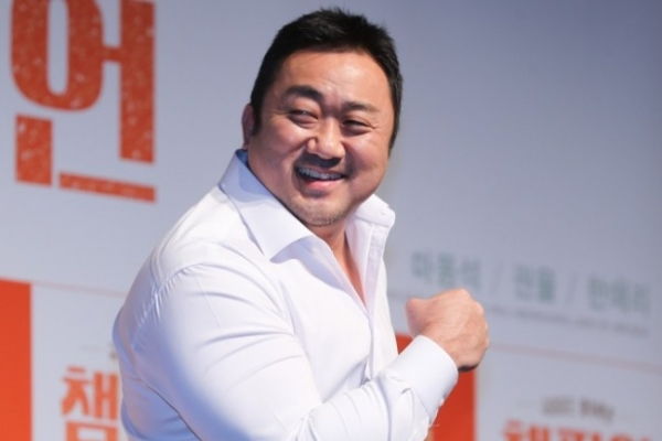 New Ma Dong-seok movie commences filming