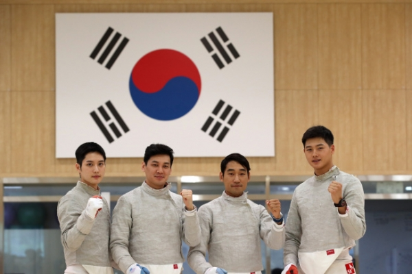 Sabre fencer says men's team perfectly suited for Asian Games gold