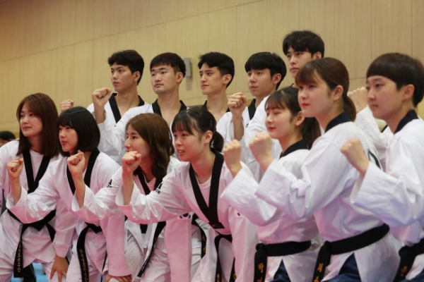 Korean taekwondo athletes vow to prove reputation at Asian Games