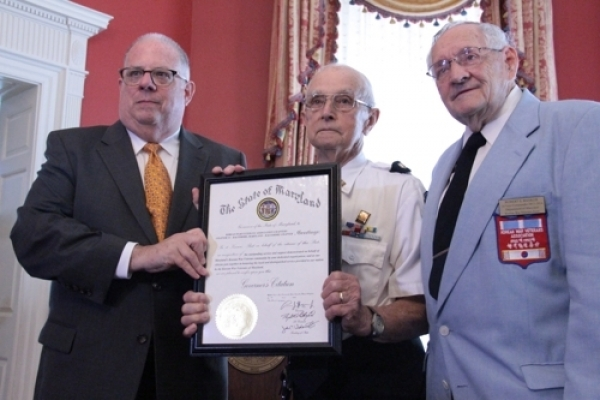 Maryland honors Korean War veterans as N. Korea returns remains