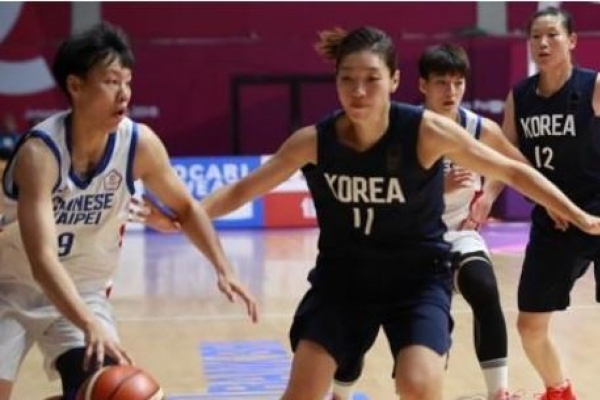 Unified Korean team suffers 1st loss in women's basketball