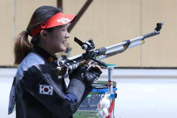 Korea grabs 2 shooting silver medals