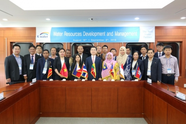K-water hosts seminar on water resource management for Southeast Asian delegates