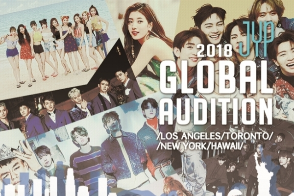 JYP Entertainment to hold auditions in North America